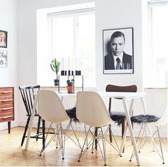 Une salle à manger minimaliste