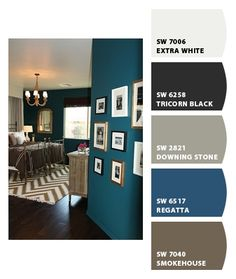 Paint colors from Chip It! by Sherwin-Williams Paint colors from Chip It! by Sherwin-Williams Room Paint Colors, Interior Paint Colors, Wall Colors, House Colors, Interior Design, Bedroom Colors, Sherwin William Paint, House Painting, Decoration