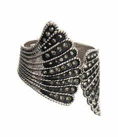 Silver Black Accent Art Deco Inspired Cuff Bracelet Laurel and Sunset, http://www.amazon.com/dp/B007SBS6OG/ref=cm_sw_r_pi_dp_YOn6qb13GERWA
