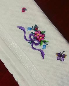 Have the most favorite part of your house or dowry with your etamine towels 😍 the my by Umeda # Handiwork Embroidery Store, Embroidery Hoop Art, Beaded Embroidery, Pokemon Crochet Pattern, Pikachu Crochet, Xmas Cross Stitch, Cross Stitch Christmas Ornaments, Cross Stitch Designs, Cross Stitch Patterns