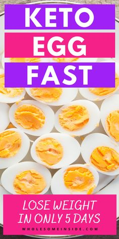 Are you ready to lose weight fast? The Keto egg diet is a simple way to drop the pounds. All you need to do is focus on the eggs, and the weight will fall off! In just 5 days, you'll see big results! Keto Egg Fast, Keto Flu, Keto Supplements, Egg Diet, Lose 20 Lbs, Egg Recipes, How To Lose Weight Fast, Herbalism, Eggs