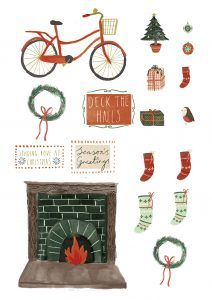 Free Christmas printables from Papercraft Inspirations 183 - Papercraft Inspirations Diy Christmas Cards, Christmas Greetings, Christmas Crafts, Xmas, Free Christmas Printables, Free Printables, Parchment Cards, Shaped Cards, Craft Projects