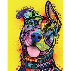"- Product: pit bull wall sticker decal - Sizes: S-11.8""w x 15""h; M-15""w x 19.1""h; L-30.4""w x 38.8""h; XL-38.8""w x 49.3""h - Style: pop art, splash art, animal art - Colors: yellow, purple, blue, lilac,"