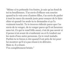 Citation Pour Son Ex, Quote Citation, Love Words, Beautiful Words, Love Sentences, French Love Quotes, Love Text, Aesthetic Words, Father Quotes