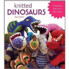 I'm currently knitting an orange Spinosaurus for Elliott