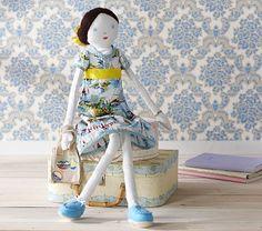 Designer Doll Finley #PotteryBarnKids