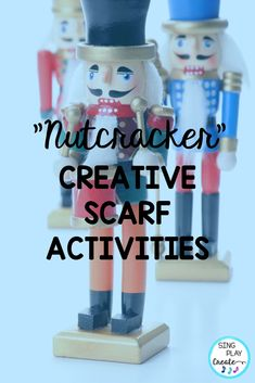 You'll have your elementary music class students dancing and moving with these Nutcracker themed scarf activity cards. Sparkly directional cards will keep your students engaged and creative during December holiday lessons. #singplaycreate  #musicclassresource  #musiceducation  #elementarymusiced  #musiced  #elementarymusiceducation  #musicandmovement #tptteacher #preschool #homeschool #movementactivities #teacherlife #teacherjoy #holidaysongs #orfflessons #orffteacher #christmassongs