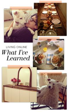 Living Online: What I've Learned from almost a decade of blogging + my Top 5 Tips for managing what you share online #livingonline #etiquette #online #socialmedia #lessons #tips #advice #blogging #designsponge