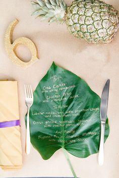Tropical Wedding Inspiration | Hannah McClune Photography | Bridal Musings Wedding Blog