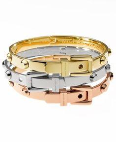 Michael Kors Bracelets - Macy's - mix and matchers @veronicalewi