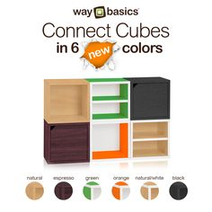 Connect Cubes now in 6 new colors. Get yours now!