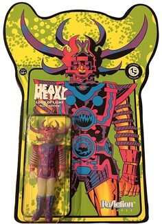 Super7 Heavy Metal Lord of Light Action Figure (Glows in the Dark)