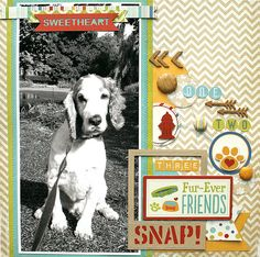 Layout: One Two Three Snap! - Imaginisce