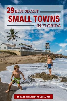 Shhh! 29 Best Small Towns in Florida That the Locals Want Kept Secret -- Florida has some amazing big cities, popular beaches, and gigantic theme parks, but sometimes you just want places to visit to get away from all that! Enter: these amazing small towns in Florida that have a whole lot of charm, and a lot less people, making for the best vacation destinations. Fun things to do, road trips, and a getaway with kids or without - these are amazing Florida vacation ideas! #Florida… Florida Vacation, Florida Travel, Best Vacation Destinations, Vacation Ideas, Small Towns, The Locals, Things To Do, Places To Visit, Road Trips