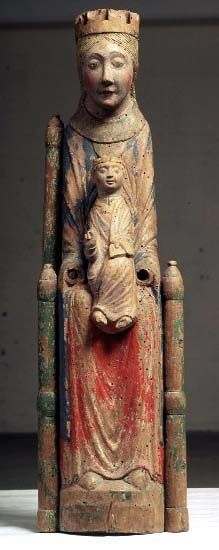 Virgin mary middle ages