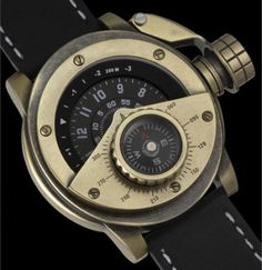German watchmakers Retrowerk have introduced a new range of Steampunk watches.