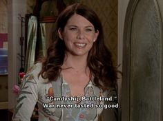 Gilmore Girls... they should make an app for that 'game'