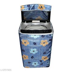 Appliance Covers E-Retailer™ Polyester Cotton Top Load Washing Machine Cover (Size : Suitable For 6 KG to 7.5 KG, Color :Blue)   Material: Polyester Capacity: 6 To 7.5 kg Size(L X W X H): 23 in x 35 in x 22 in  Description: It Has 1 Piece Of Top Load Washing Machine Cover Work: Printed Sizes Available: Free Size *Proof of Safe Delivery! Click to know on Safety Standards of Delivery Partners- https://ltl.sh/y_nZrAV3  Catalog Rating: ★4.1 (4332)  Catalog Name: Free Mask Colorful Classy Top Load Washing Machine Covers Vol 19 CatalogID_521688 C131-SC1624 Code: 662-3731966-