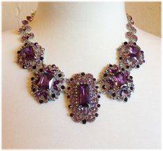 Hey, I found this really awesome Etsy listing at https://www.etsy.com/listing/241962352/wedding-jewelry-set-bib-necklace-and