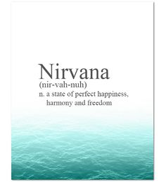 Nirvana definition - Google Search