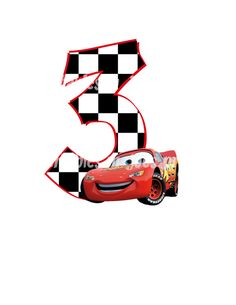Cars Age Birthday Number DIY iron On Printable by mrjoesprintables, $5.00