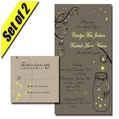 nice 9 diy mason jar wedding invitations Check more at http://jharlowweddingplanning.com/9-diy-mason-jar-wedding-invitations