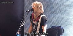 """""""Def Leppard performing Rock Of Ages live in Detroit, 2016. [x] """""""