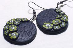 """Ohrhänger """"Gelbe Blüten"""" - ein Designerstück von iCo-Design bei DaWanda"""
