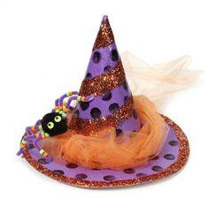 Paper Maché Festive #Witch Hat #Halloween #MichaelsStores