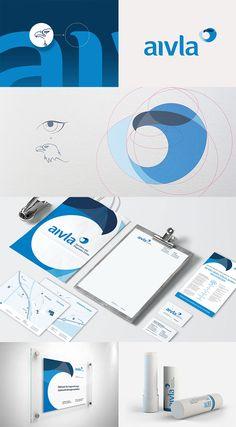 Clinic Aivla by Florian Anderhub #medicalbrand #branding #brandinginspiration
