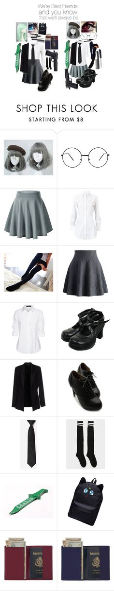 """Assassination Classroom - OC's"" by bloody-angel2003 ❤ liked on Polyvore featuring interior, interiors, interior design, home, home decor, interior decorating, Alaïa, Valerie, Chicwish and Steffen Schraut"