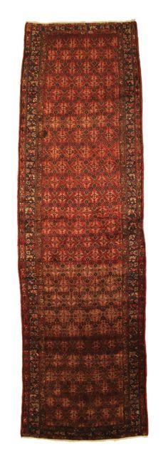 TRADITIONAL PERSIAN HAMADAN RUG 106 cm x 384 cm