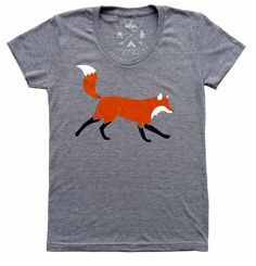 Get ready for spring with this Red Fox tee! #Marist