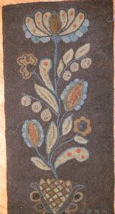 Fraktur Floral by Wooley Woolens