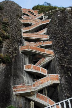 "El Peñon de Guatape (Spanish for ""The Guatape Rock""), Guatape, Colombia"