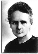 Marie Sklodowska (Curie) (1867 - 1934)
