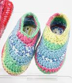 close-up of cd205-05 child slippers