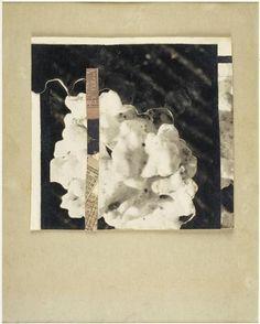 Kurt Schwitters, Nsport Bu, 1944-45, 17x17,8 cm, épreuve gélatino-argentique, papier journal, photocollage, Centre Pompidou, paris