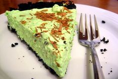 Tarta de after-eight, de menta y chocolate - Recetín
