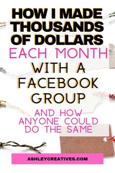 Want to make money using a Facebook group? I have literally made thousands a month from my Facebook selling groups, and built deep customer relationships and loyalty. I love using Facebook groups to sell more product and create a frenzy around my items. And you can do it too. #facebook #facebookmarketing #entrepreneurship