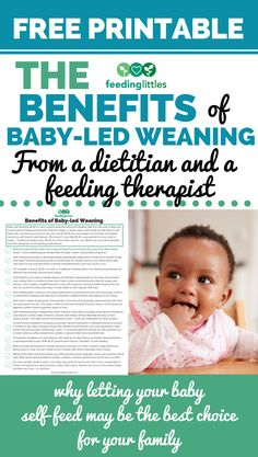 Here's the benefits of baby-led weaning from @feedinglittles. Baby Self Feeding, Baby Feeding Chart, Baby Feeding Schedule, Baby Led Weaning First Foods, Baby Weaning, Weaning Toddler, Baby Record Book, Healthy Kids, Healthy Weight