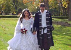 Fairy Sparkle Medieval Renaissance Wedding Gown Custom