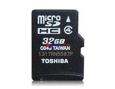 Carte Micro SD Toshiba haute vitesse de 32 Go CLASS4 (Noir) http://cartesd32.blogspot.com/