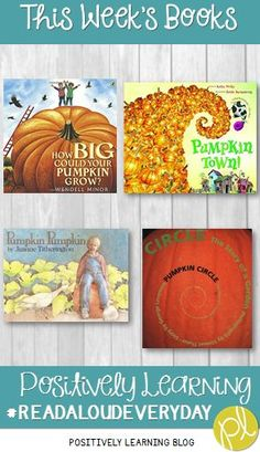 It's pumpkin time! Here's some of our favorite pumpkin books and activities in the first grade inclusion classroom. From Positively Learning Blog #pumpkinbooks #octoberbooks #pumpkinactivities
