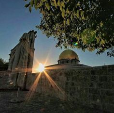The Dome of the Rock in Jerusalem, Palestine
