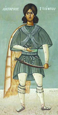 Η προσωπογραφία του Φώτη Κόντογλου «Ο Λήσταρχος του Ολύμπου»