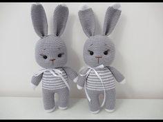 Knitted Stuffed Animals, Handmade Stuffed Animals, Knitted Animals, Crochet Cat Toys, Crochet Rabbit, Knitted Teddy Bear, Crochet Doll Dress, Crochet Mermaid, Mermaid Dolls