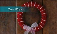 Watch a Yarn Wreath in Action!    Get all our tips for yarn wreaths in this nifty 60-second video.