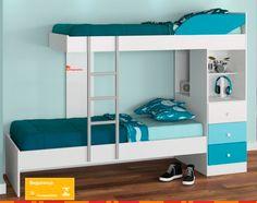 A Beliche 3 Gavetas L.O.L possui um design moderno com a ótima qualidade dos produtos Santos Andirá. A Beliche 3 Gavetas Teen possui espaço para colchão de 78 cm, agregando beleza e conforto ao seu quarto.  Por R$799,00 em até 10x de R$79,90 ou com 10% de desconto R$719,10. Compre aqui http://www.shopmartins.com.br/beliche-teen-l-o-l-3-gavetas-branco-com-petroleo-e-turquesa-santos-andira-8663.html