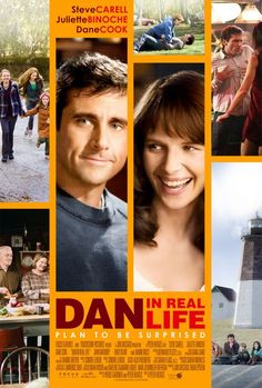 Dan in Real Life , starring Steve Carell, Juliette Binoche, Dane Cook, Alison Pill. A widower finds out the woman he fell in love with is his brother's girlfriend. All Movies, Great Movies, Movies Showing, Movies And Tv Shows, Love Movie, Movie Tv, Dan In Real Life, Matthew Morrison, Bon Film
